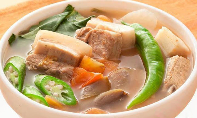 Pork Sinigang Filipino Recipe