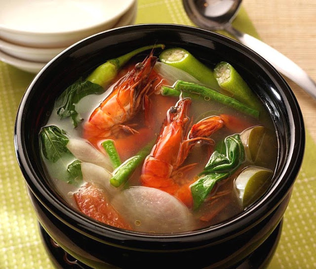 Sinigang Na Hipon Filipino Recipe