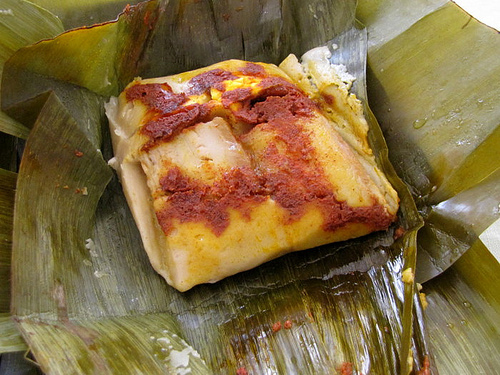 Filipino Tamales Food Recipe