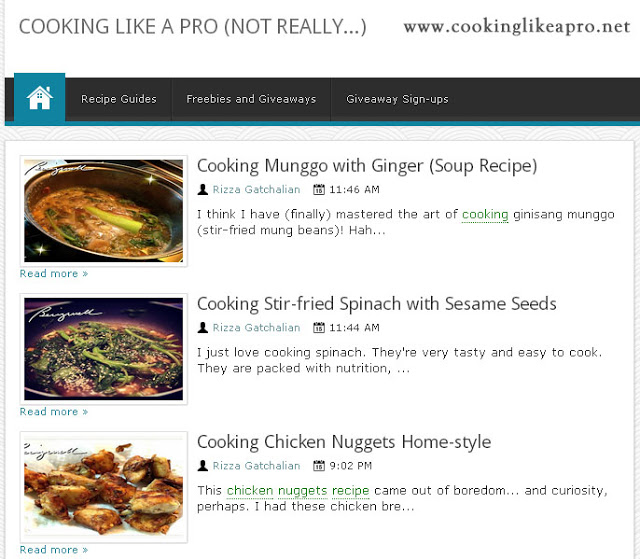 CookingLikeAPro.Net – A Food Blog That You Shouldn't Miss