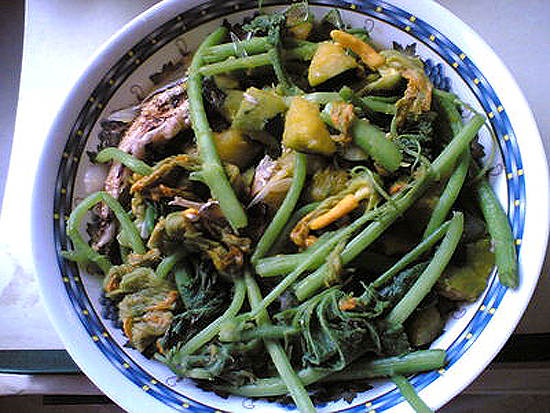 Dinengdeng Filipino Vegetable Dish