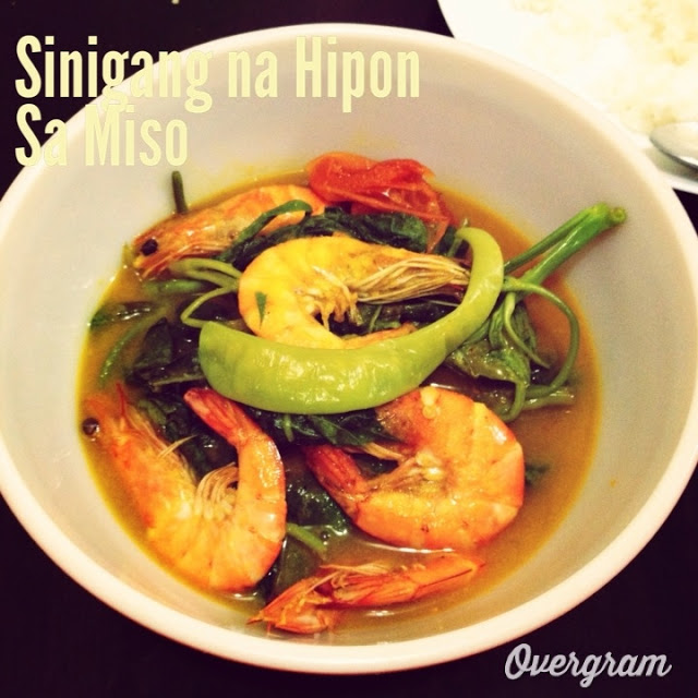 Sinigang na Hipon sa Miso Filipino Recipe