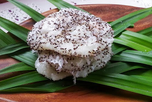 Pandan Palitaw Filipino Recipe