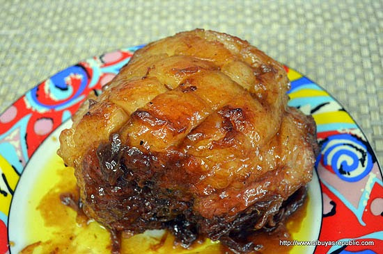 Filipino Christmas Ham Food