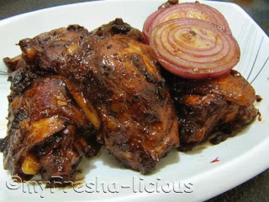 Buttered Chicken Adobo