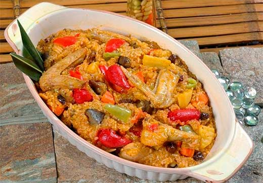 Arroz Valenciana Filipino Food