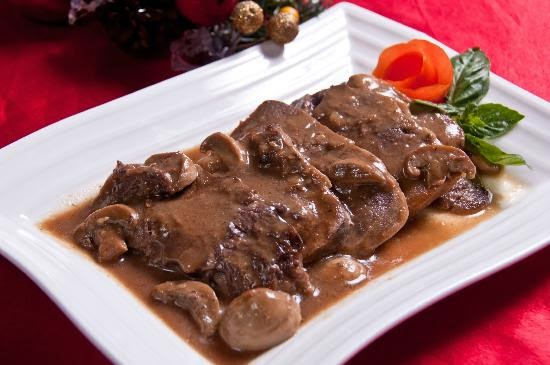 Lengua Con Setas (Ox Tongue With Mushroom)