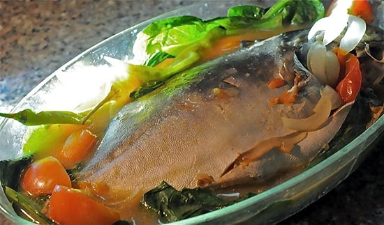 Lightly Souped Pomfret (Pinangat Na Pampano) Recipe