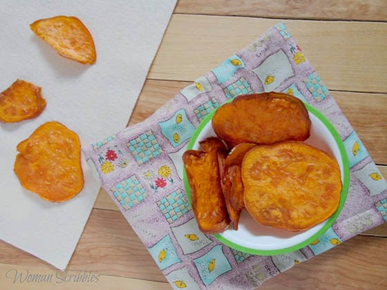 Easy Sweet Potato Chips Recipe