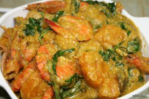 Ginataang Hipon (Shrimp in Coconut Milk)