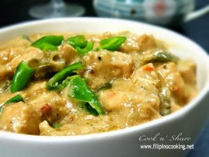 How To Cook Chicken Bicol Express