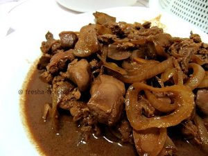 Adobong Atay At Balunbalunan