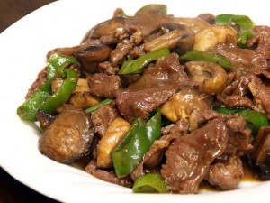 Filipino Main Dish Recipe: Beef Salpicao with Buttered Vegetables