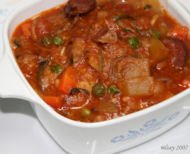 Callos (Tripe and Sausage with Chickpeas)