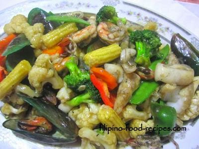 Original Gising Gising Recipe (Chopsuey Spicy Version)